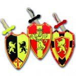 set spada e scudo